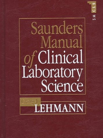 Saunders Manual of Clinical Laboratory Science 9780721621852