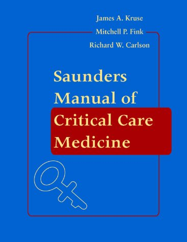 Saunders Manual of Critical Care 9780721694191