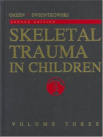 Skeletal Trauma in Children, Volume 3 9780721667355