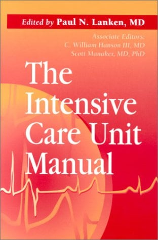 The Intensive Care Unit Manual 9780721621975