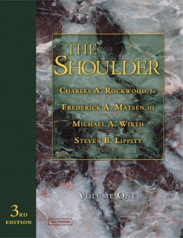 The Shoulder: 2-Volume Set 9780721601489