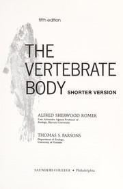 The Vertebrate Body: Shorter Version