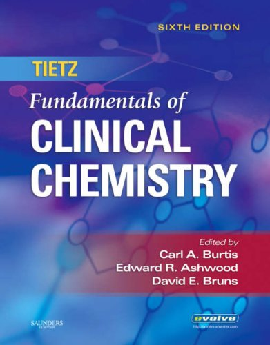 Tietz Fundamentals of Clinical Chemistry 9780721638652