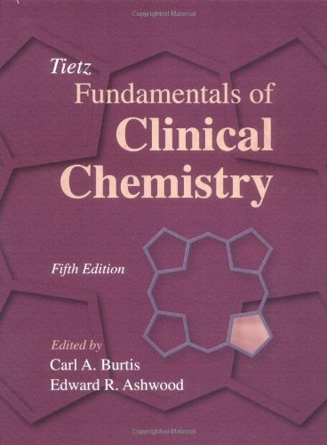 Tietz Fundamentals of Clinical Chemistry 9780721686349