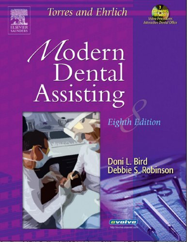 Torres and Ehrlich Modern Dental Assisting Package [With 2 CDROMs] 9780721639079
