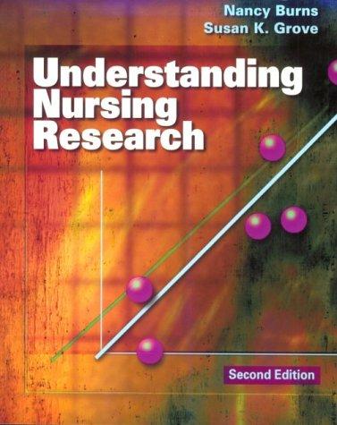 Understanding Nursing Research 2/E 9780721681061