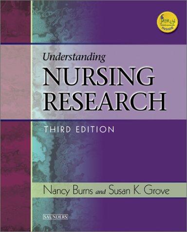 Understanding Nursing Research - 3rd Edition