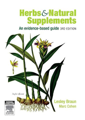 Herbs & Natural Supplements: An Evidence-Based Guide 9780729539104