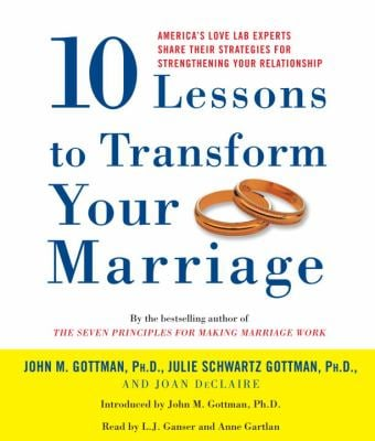 10 Lessons to Transform Your Marriage: America's Love Lab Experts Share Their Strategies for Strengthening Your Relationship 9780739332375