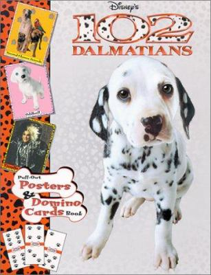 102 Dalmatians Pull Out Poster: Pull-Out Posters and Domino Cards Book [With 64 Domino Playing Cards W/Board Game and Pull-Out Posters] 9780736410663