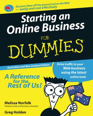 Starting an Online Business for Dummies 9780731409914