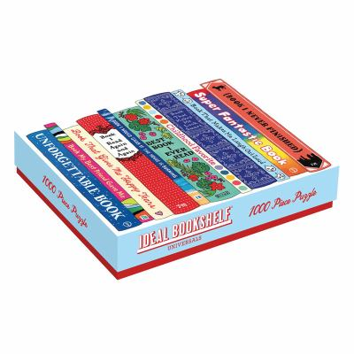 Galison Ideal Bookshelf Universals Puzzle (1000 Piece)