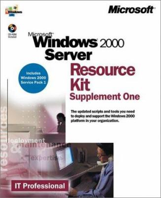 Microsoft Windows 2000 Server Resource Kit Supplement One [With CDROM] 9780735612792