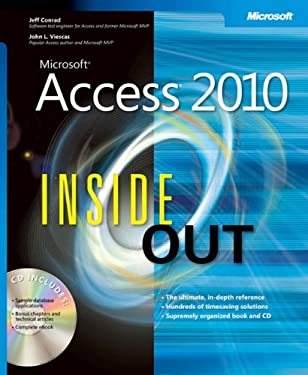 Microsoft Access 2010 Inside Out [With CDROM] 9780735626850