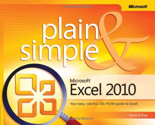 Microsoft Excel 2010 Plain & Simple 9780735627277