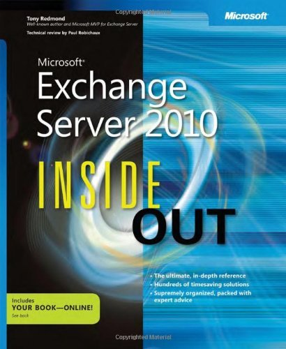 Microsoft Exchange Server 2010 Inside Out 9780735640610