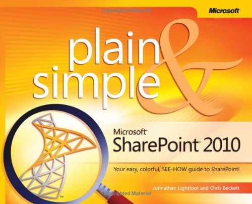 Microsoft SharePoint 2010 Plain & Simple 9780735642287