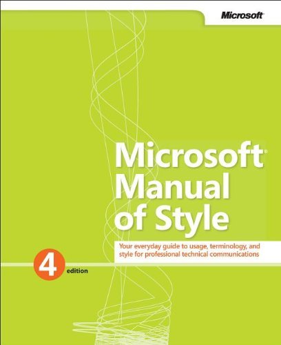 Microsoft Manual of Style 9780735648715