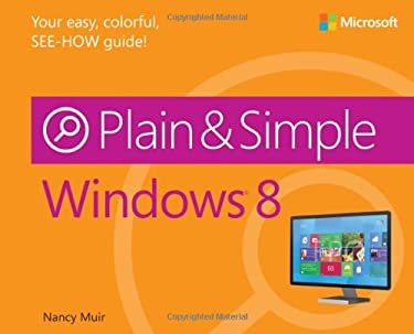Windows 8 Plain & Simple 9780735664036