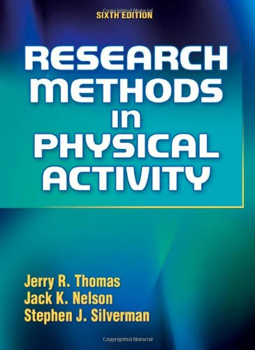 Research Methods in Physical Activity 9780736089395