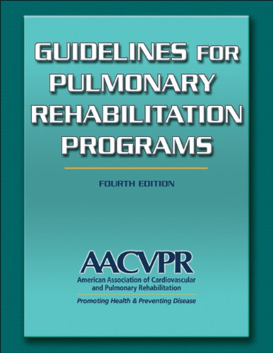 Guidelines for Pulmonary Rehabilitation Programs 9780736096539