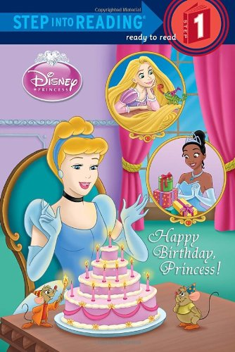 Happy Birthday, Princess! (Disney Princess) 9780736428590