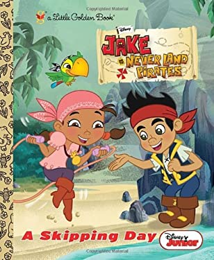 A Skipping Day (Disney Junior: Jake and the Neverland Pirates) (Little Golden Book) 9780736430296