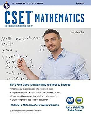 CSET Mathematics Book + Online (CSET Teacher Certification Test Prep)
