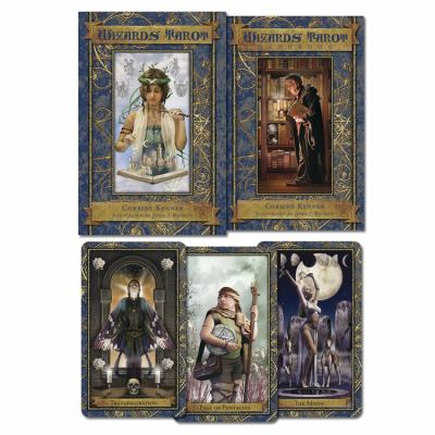 Wizards Tarot [With Paperback Book] 9780738712857