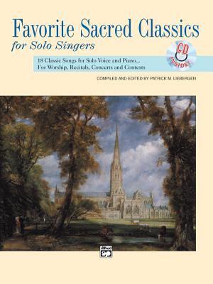 Favorite Sacred Classics for Solo Singers: Medium High Voice, Book & CD 9780739001141