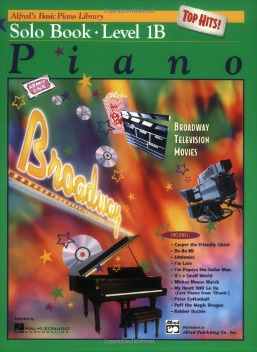 Alfred's Basic Piano Course Top Hits! Solo Book, Bk 1b