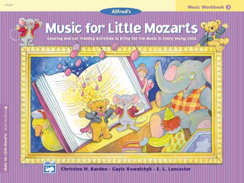 Music for Little Mozarts Music Workbook, Bk 4 9780739006511