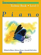 Alfred's Basic Piano Course Technic, Bk 3 9136838