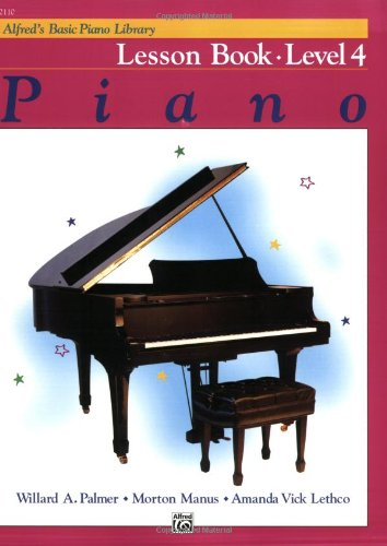 Alfred's Basic Piano Course Lesson Book, Bk 4 9780739009055
