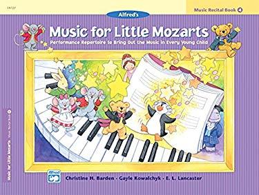 Music for Little Mozarts Recital Book