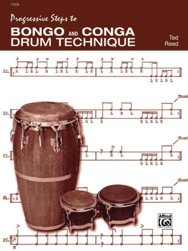 Progressive Steps to Bongo and Conga Drum Technique 9780739013304