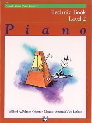 Alfred's Basic Piano Course Technic, Bk 2