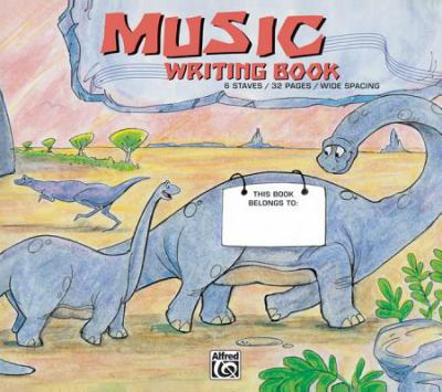 Alfred's Basic Music Writing Book: Wide Lines 9780739021958
