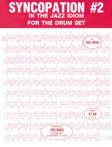 Syncopation No. 2: In the Jazz Idiom for the Drum Set 9780739034552