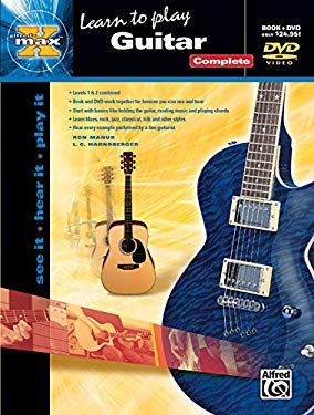 Alfred's Max Guitar Complete: See It * Hear It * Play It, Book & DVD (Sleeve)