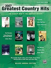 2007 Greatest Country Hits: Piano/Vocal/Chords 17389524