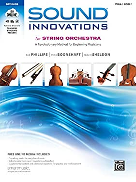 Sound Innovations for String Orchestra: Viola, Book 1: A Revolutionary Method for Beginning Musicians [With CD (Audio) and DVD] 9780739067895