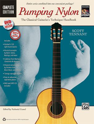Pumping Nylon -- Complete: A Classical Guitarist's Technique Handbook, Book, DVD & CD 9780739071588