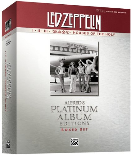 Led Zeppelin Authentic Guitar Tab Edition Boxed Set: Alfred's Platinum Album Editions 9780739075555