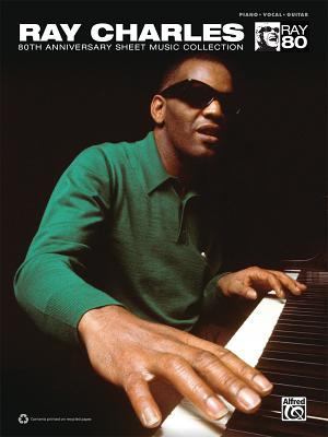 Ray Charles 80th Anniversary Sheet Music Collection: Piano/Vocal/Guitar 9780739078198