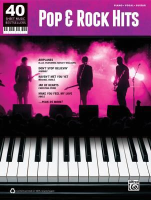 Pop & Rock Hits: Piano/Vocal/Guitar 9780739081860