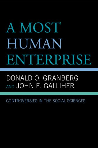A Most Human Enterprise: Controversies in the Social Sciences 9780739127971