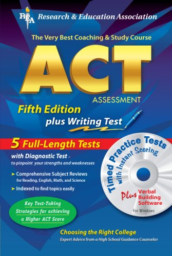ACT Assessment [With CDROM] 9780738600734