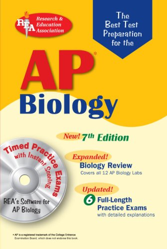 AP Biology: The Best Test Prep for the AP Exam [With CDROM] 9780738602691