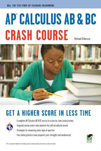 AP Calculus AB & BC Crash Course 9780738608877